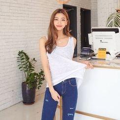 Seoul Fashion - Sleeveless T-Shirt