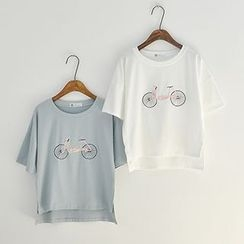 Angel Love - Embroidered T-Shirt
