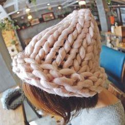 羅煞秀 - 純色針織帽