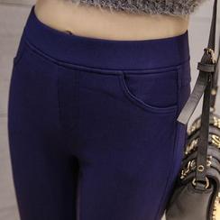 Emmy - 抓毛里窄身裤