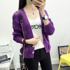 Knitemps - Cable-Knit Cardigan