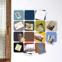 Full House - Round Wall Foldable Decoration Stickers / Message Boards