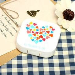 Lens Kingdom - Heart Contact Lens Case