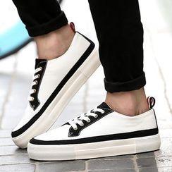Preppy Boys - Contrast-Color Sneakers
