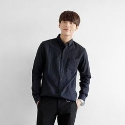 Seoul Homme - Wool-Blend Dress Shirt