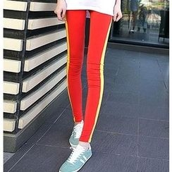 Kleggings - Contrast Trim Leggings