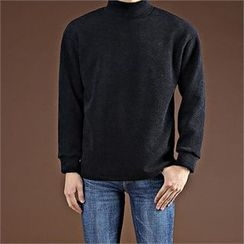 THE COVER - Turtle-Neck Pullover