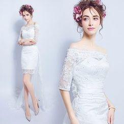 Angel Bridal - 蕾絲宴會裙