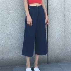MATO - Cropped Wide Leg Pants