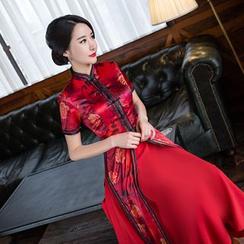 Janelle Qipao - 越南奥黛旗袍套装