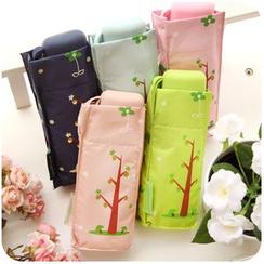 Momoi - Floral Print Compact Umbrella