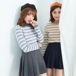 BAIMOMO - Striped Knit Top