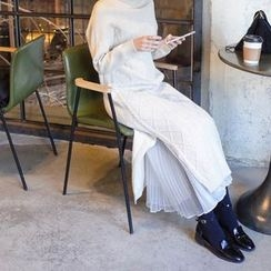 mimi&didi - Sleeveless Long Tulle Dress