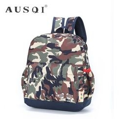 Ausqi - Kids Camo Backpack