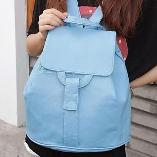Zip-Accent Backpack