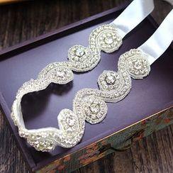 constello - Bridal Faux Pearl Headband