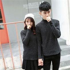 Simpair - Couple Matching Turtleneck Sweater