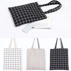 Eastin - Check Shopper Bag