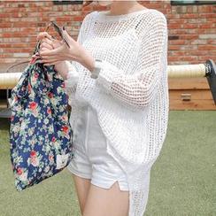 Roseate - Knit Beach Cover