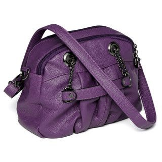 yeswalker - Chain Strap Shirred Handbag