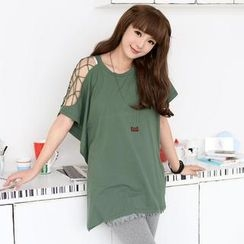 SO Central - Net-Sleeve T-Shirt