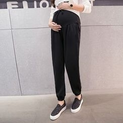 Shandie - Maternity Drawstring-Waist Sweatpants
