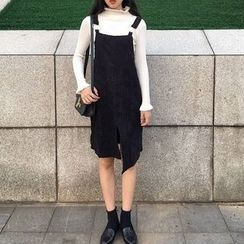 Anlay - Loose-Fit Corduroy Jumper Dress