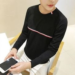 Prep Soul - Long-Sleeve Striped T-Shirt