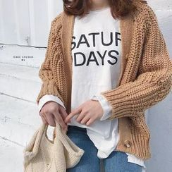 Mango Home - Cable Knit Cardigan