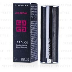Givenchy - Le Rouge Intense Color Sensuously Mat Lipstick - # 108 Beige Deshabille (Genuine Leather Case)