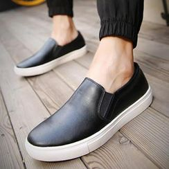 Preppy Boys - Genuine-Leather Slip-Ons