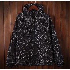 Bigboy - Patterned Hooded Jacket