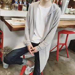 Zeesebon - Hooded Knit Jacket