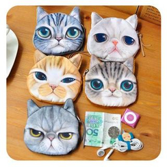 Momoi - Cat Coin Purse (5 Designs)