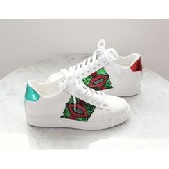 DANI LOVE - Sequined Sneakers