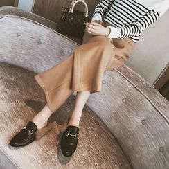 IndiGirl - Cropped Straight-Leg Pants
