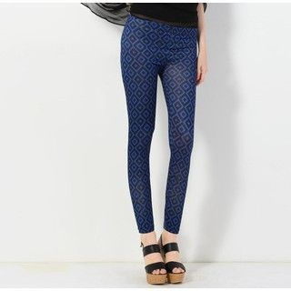 YesStyle Z - Diamond Print Leggings