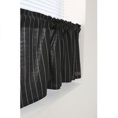 iswas - Pinstripe Valance Curtain