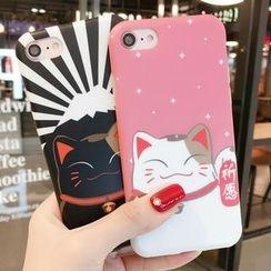 SUGOI - Cat-Print iPhone 6 / 6 Plus / 6S / 6S Plus / 7 / 7 Plus Case