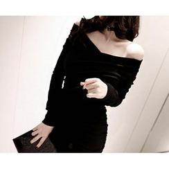 Marlangrouge - Shirred Mini Bodycon Dress