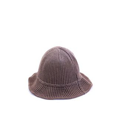 Ohkkage - Ribbed Wool Blend Bucket Hat