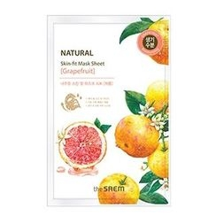 The Saem - Natural Skin Fit Mask Sheet (Grapefruit) 1pc