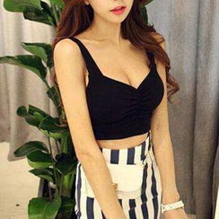 Jolly Club - Sleeveless Cropped Top