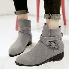 Gizmal Boots - Pointy Ankle Boots