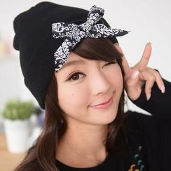 59 Seconds - Bow Accent Beanie