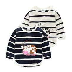 WellKids - Kids Long-Sleeve Striped Top