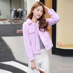 Romantica - Fleece Cropped Jacket