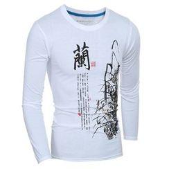 Hansel - Long-Sleeve Print T-Shirt