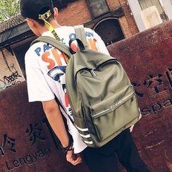 Risage - Lettering Nylon Backpack
