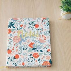 LIFE STORY - 'ECCOLO' Series Hard Cover Lined Notebook (L)